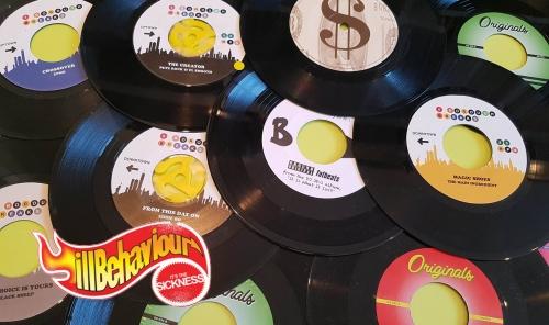 45 Flavours vinyl mix twitter pic